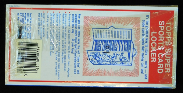 1978 Topps Football Unopened Wax Pack Tray