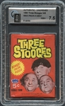 1965 Fleer Three Stooges Unopened Wax Pack GAI 7.5 NM+