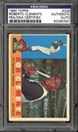 1960 Topps #326 Roberto Clemente Autographed PSA/DNA AUTHENTIC
