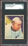 1935 National Chicle #9 Knute Rockne SGC 60 EX 5