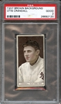 1912 T207 Brown Background Otis Crandall PSA 2 GOOD