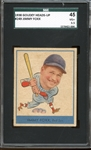 1938 Goudey Heads-Up #249 Jimmy Foxx 45 VG+ 3.5