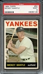 1964 Topps #50 Mickey Mantle PSA 9 MINT
