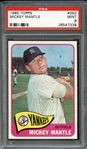 1965 Topps #350 Mickey Mantle PSA 9 MINT