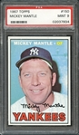 1967 Topps # 150 Mickey Mantle PSA 9 MINT