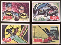 1966 Topps Batman Red Bat Unopened Cello Pack Group of Four