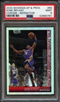 2005 Bowman DP and Pros #69 Kobe Bryant Chrome Refractor PSA 9 MINT