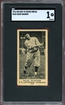 Exceedingly Rare 1916 Holmes to Homes #184 Honus Wagner SGC 1 PR, The Only Known Example