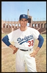 1960 Los Angeles Dodgers Postcard #6 Sandy Koufax