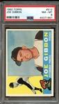 1960 Topps #512 Joe Gibbon PSA 8 NM-MT