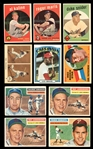 1955-1972 Shoebox Collection of (146) with Stars and HOFers