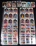 1989-90 Group of (2) Hoops I and II Complete Sets and 1990-91 Hoops I and II Set