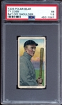 1909-11 T206 Polar Bear Ty Cobb Bat Off Shoulder PSA 1.5 FR