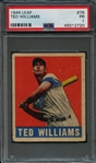 1948 Leaf #76 Ted Williams PSA 1 PR