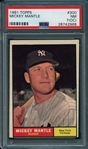 1961 Topps #300 Mickey Mantle PSA 7 (OC) NM