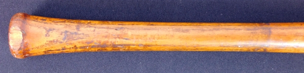 Spectacular Ty Cobb Game-Used Hillerich & Bradsby Louisville Slugger Dated to 1922 .401 Season PSA/DNA GU 10