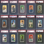 Exceptional 1909-11 T206 Complete Set Completely PSA Graded #9 on PSA Set Registry With 4.27 GPA