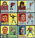 1957 Topps Football Partial Set (102/154) with Extras