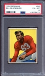 1950 Bowman #56 Bill Blackburn PSA 6 EX/MT
