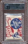 1951 Bowman Baseball Unopened 1-Cent Wax Pack GAI 8 NM/MT