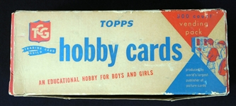 Exceptionally Rare 1964 Topps Baseball High Number Unopened Vending Box (500)