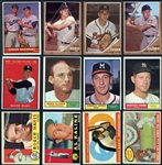 1958-1962 Shoebox Collection of Over (550) w/ Stars & HOFers