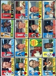 1960 Topps Star & HOF Group of (16) w/ Mays, McCovey & Aaron