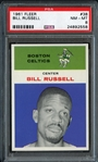 1961 Fleer #38 Bill Russell PSA 8 NM/MT