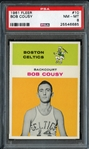 1961 Fleer #10 Bob Cousy PSA 8 NM/MT