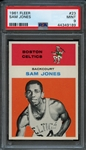 1961 Fleer #23 Sam Jones PSA 9 MINT