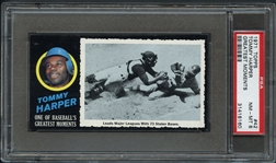 1971 Topps Greatest Moments #42 Tommy Harper PSA 8 NM/MT