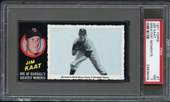 1971 Topps Greatest Moments #7 Jim Kaat PSA 7 NM