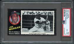 1971 Topps Greatest Moments #34 Joe Morgan PSA 6 EX/MT