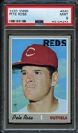 1970 Topps #580 Pete Rose PSA 9 MINT