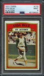 1972 Topps #170 Vida Blue In Action PSA 9 MINT