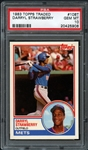 1983 Topps Traded #108T Darryl Strawberry PSA 10 GEM MINT