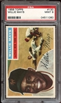1956 Topps #130 Willie Mays PSA 9 MINT