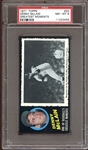 1971 Topps Greatest Moments #20 Denny McLain PSA 8 NM/MT