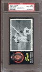1971 Topps Greatest Moments #31 Jim Wynn PSA 8 NM/MT