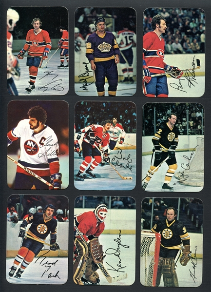 1977 Topps Hockey Glossy Complete Set (22)
