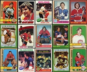 1972-73 through 1977-78 Topps Hockey Group of (6) Complete Sets