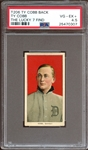1909-11 T206 Ty Cobb Ty Cobb Back PSA 4.5 VG/EX+ The Highest Graded Example from the Lucky 7 Find
