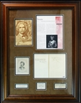 Mark Twain/ Samuel Clemens and Albert Bigelow Paine Signed Fly Leaf Book Page- PSA/DNA And JSA