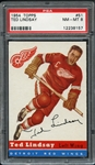 1954 Topps #51 Ted Lindsay PSA 8 NM-MT