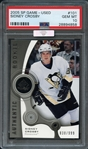 2005 SP Game-Used #101 Sidney Crosby PSA 10 GEM MINT MBA-Silver