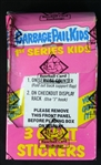 1986 Topps Garbage Pail Kids Unopened Series 1 Giant Stickers Box (BBCE)