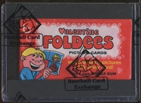 1970 Topps Valentine Foldees Unopened Wax Pack (BBCE)