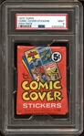 1970 Topps Comic Cover Stickers Unopened Wax Pack PSA 9