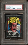 1975 Topps Shock Theatre Unopened Wax Pack PSA 7 NM