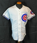 1993 Ryne Sandberg Chicago Cubs Game-Used and Signed Home Jersey Sports Investors Authentication- JSA